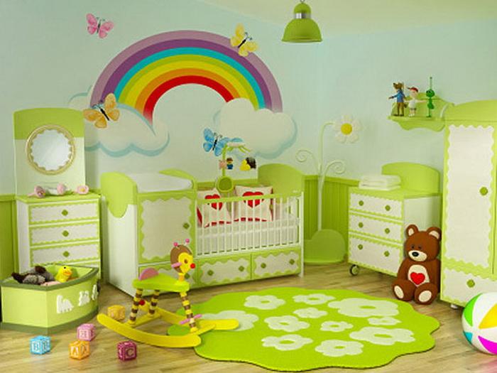 Интерьер для детской комнаты своими руками 154