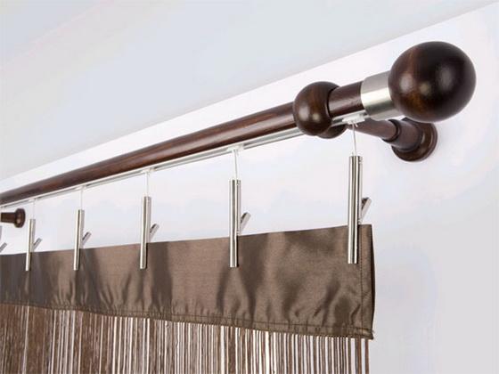 Карнизы для штор деревянные сделанные