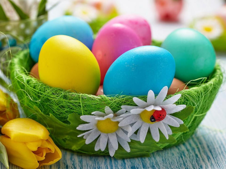 Украшаем пасхальное яйцо своими руками 1135