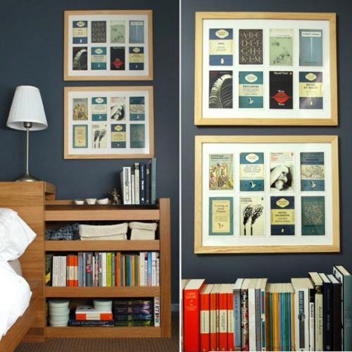 книги,стенка,картина,полки,идея,сделай сам,коллаж,