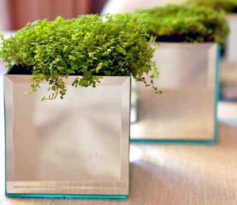 инструкция,фото,сделай сам,горшок,цветы,зеркало