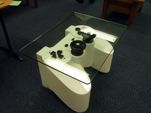 PlayStation,стол,geek,консоль,мебель,журнальный стол