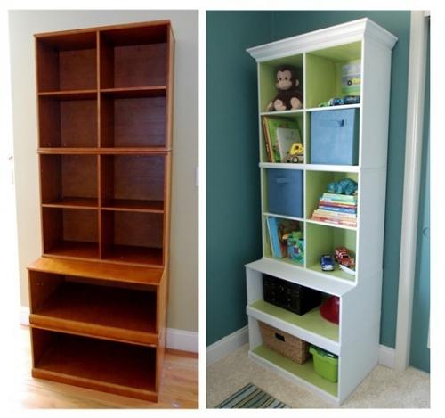 шкаф,сервант,до и после,реставрация,детская мебель,лак,плинтус,краска