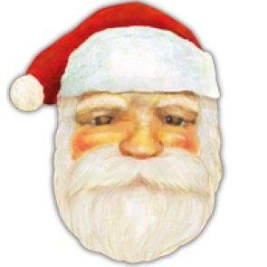дед мороз,мешок, новый год, сделать,скачать,поп ап,маска,бумажная маска деда мороза