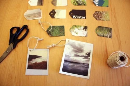 новый год,украшения,поделки,бумага,ножницы,веревка,ветки,картон