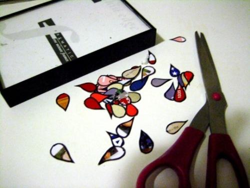 журналы,сделай сам,ножницы,вырезать,картина,плакат,газеты,поделки