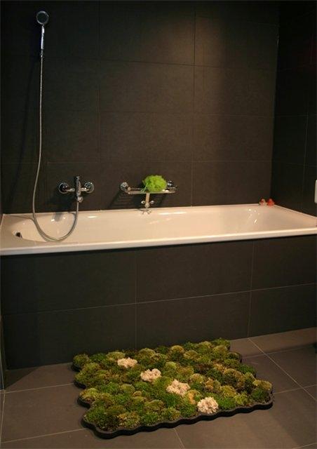 Коврики для ванной необычные