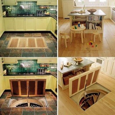 Как сделать подвал на кухне 501