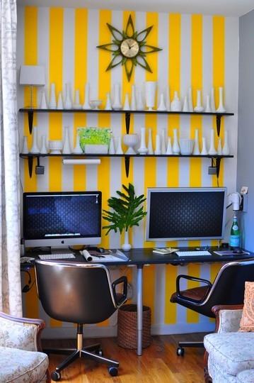 офис,домашний офис,фриланс,работа дома,шторка,гостиная,mac