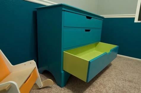 комод,старый комод,зеленый,простой комод,ремонт мебели,до и после,реставрация