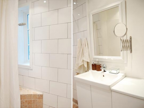 душ,ванная,комната, раковина,зеркало