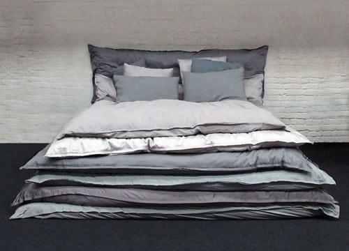 подушки,одеяла,кровать,дизайн,лень