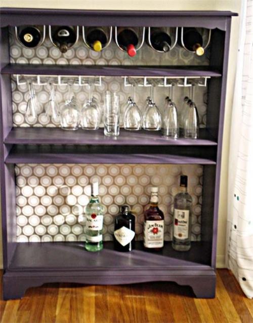 шкаф,шкафчик,старая мебель,ремонт мебели,до и после,мини бар,как сделать бар,бокалы,стаканы,алкоголь