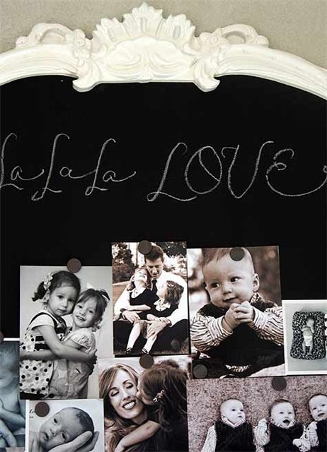 девочка,стена,фотографии,магнитная доска,школьная доска.доска для мела,декор,интерьер