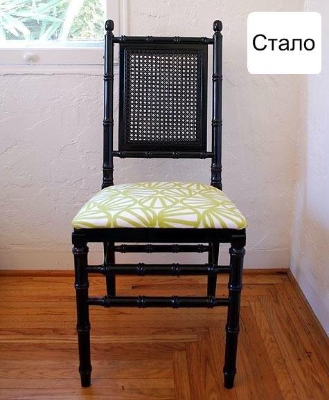 стул,старый стул,до и после,сделай сам,плетенная мебель