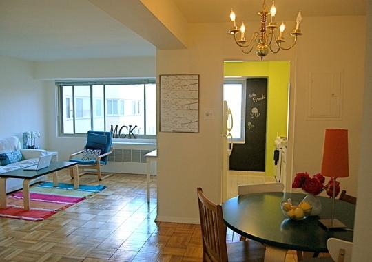 квартира,дизайн,фото,мел,доска,кухня,стол