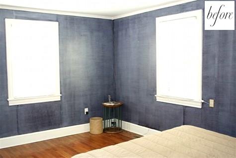 спальня,кровать,ремонт,до и после,фото