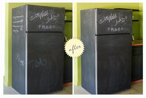 холодильник,до и после