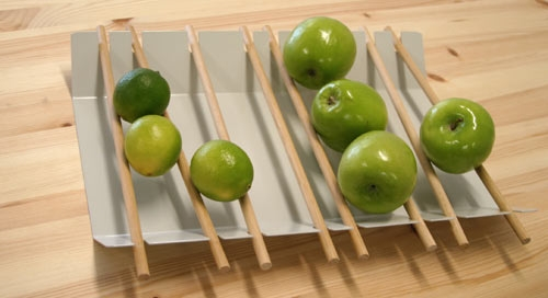 поднос, фрукты, ягоды,яблоки,блюдо,кухня
