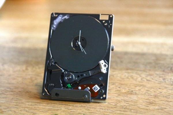 часы,поделка,своими руками,сделай сам,ipod,жестки диск