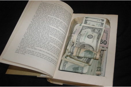 спрятать деньги