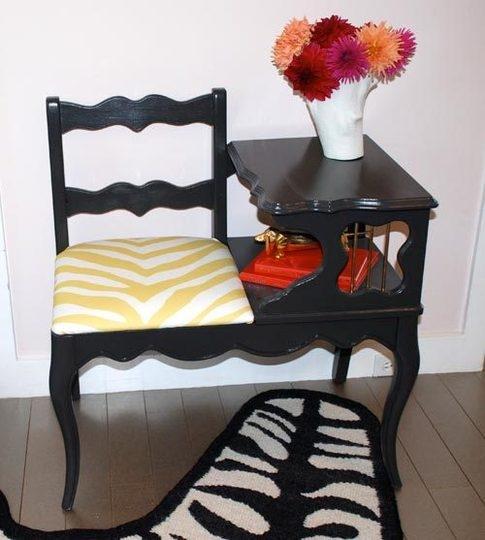 стул,столик,до и после