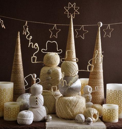 2010,идея,инструкции,новый год,поделки,сделай сам,снеговик,украшения,фото