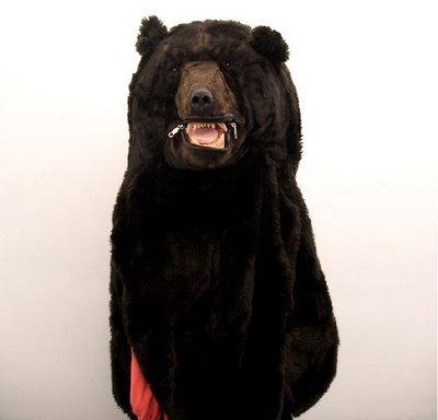 спальный мешок,медведь