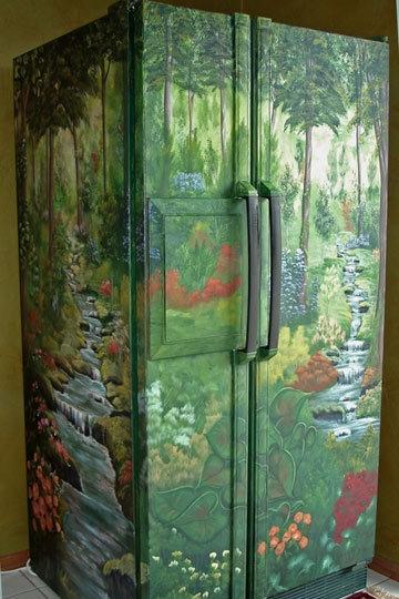 холодильник,поделки,сделай сам,дизайн