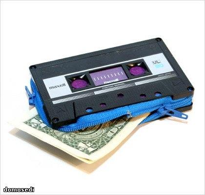 кошелек,8 bit,сделай сам,касета