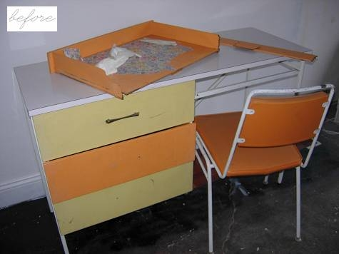 до и после,стол