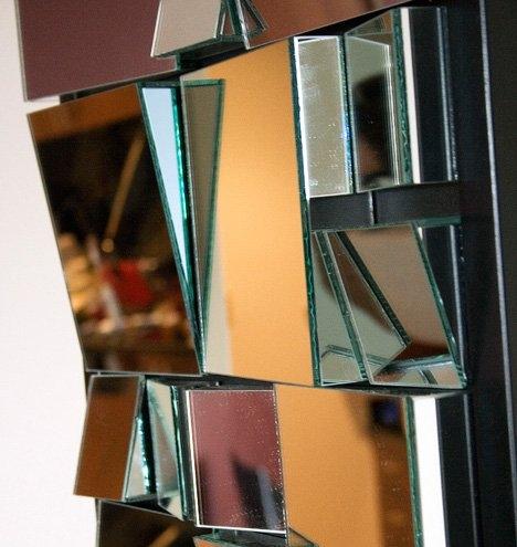 зеркало,разбитое,поделки,ремонт,стена,ваза