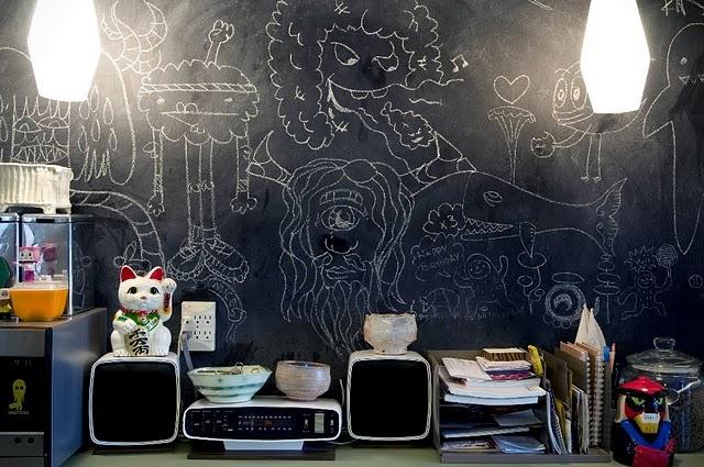 дети,дизайн,доска,зал,идея,интерьер,краска,кухня,фото,школьная доска