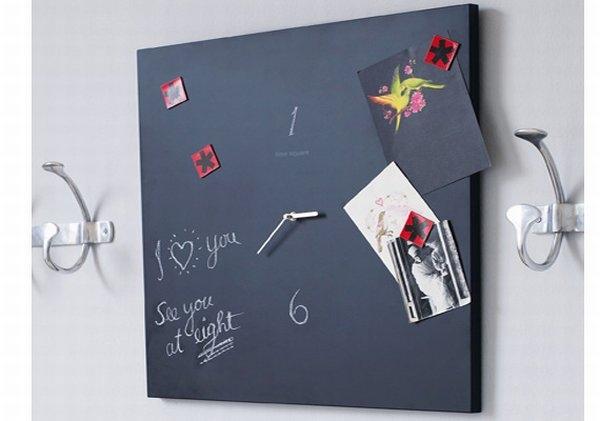 доска,краска,поделки,сделай сам,часы,школьная доска