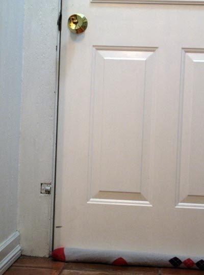 дверь,идея,поделки,сквозняк,шитье