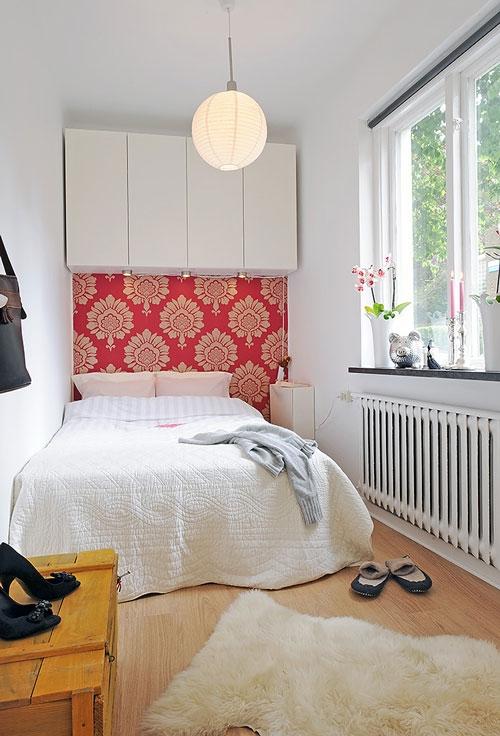идея,комната,кровать,маленько пространство,обустройство дома,окно,фото