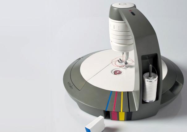 гаджет,инновации,машинка,мода,нитки,принтер,сканер,шитьё