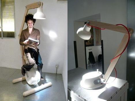 вело тренажёр,гениратор,книга,лампа,тренажёр,чтение,электричество
