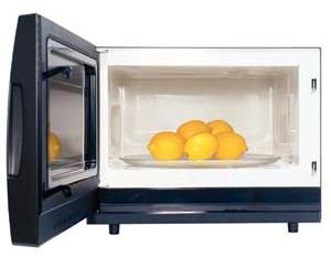 губки,зелень,лимон,мёд,печь,СВЧ,совет,сок,хак
