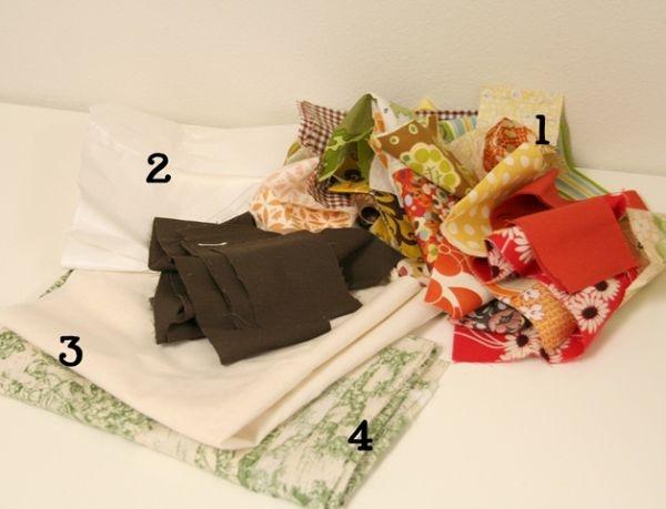 подушка,наволочка,осень,сшить