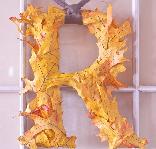 листья,осень,папье маше