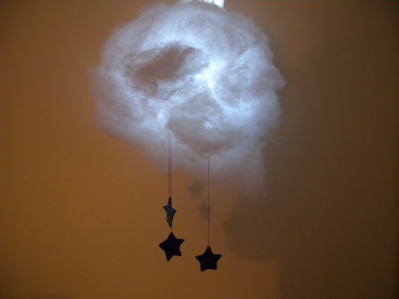 фонарь,свет,люстра,облако,сделай сам
