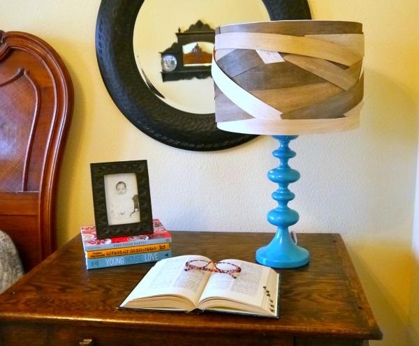 светильник,абажур,пробковое дерево