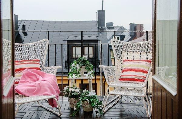 кресла на балконе,вид,балкон,столик для балкона