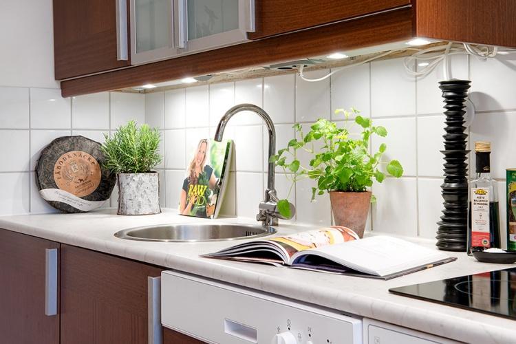 кухня,раковина,Швеция,скандинавский дизайн