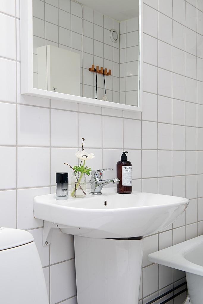ванная,раковина,Швеция,скандинавский дизайн