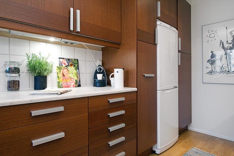 кухня,холодильник,Швеция,скандинавский дизайн