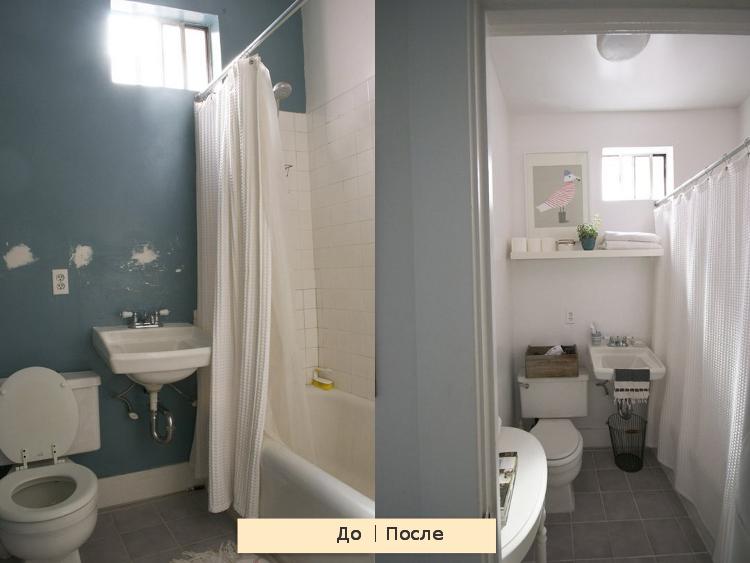ванная комната,ремонт,быстрый ремонт,до и после, альбатрос картина