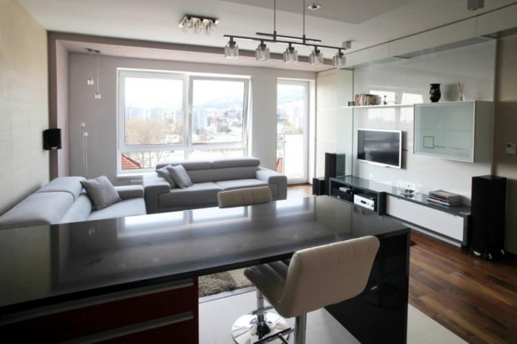 квартира, Словакия,фото,мансарда,дизайн, интерьер, кухня,зал,гостиная,спальня,ванная,коридор
