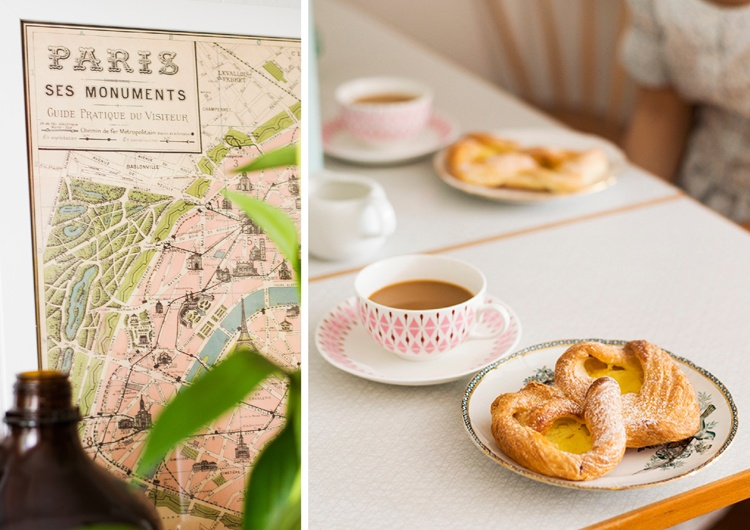 карта,завтрак,булочки,кофе,стол